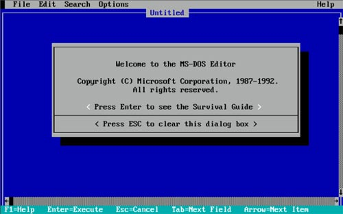 How to create a file in MS-DOS and the Windows command line