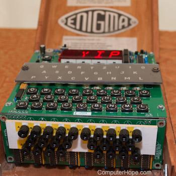 who invented enigma machine