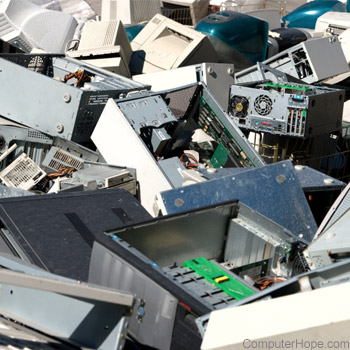 Computer disposal, donation, and recycle information