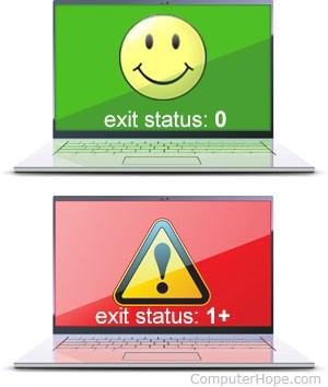 Exit Status picture
