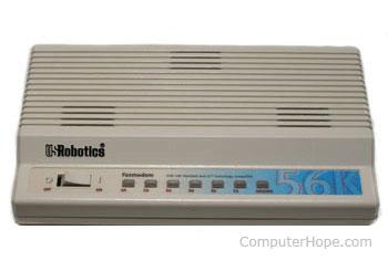 External computer modem