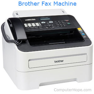 fax machine modem