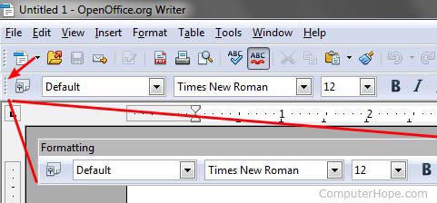 What is a Floating Toolbar?