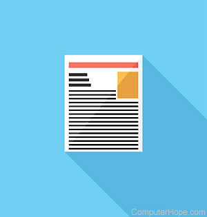 What is form letter?