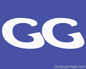 what is gg good game