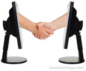 Handshake picture