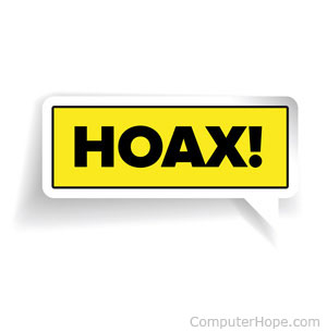 what is a hoax