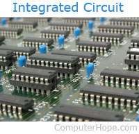 what is ic rh computerhope com definition of integrated circuit in computer science explain integrated circuit