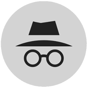 Chrome Incognito Mode logo.