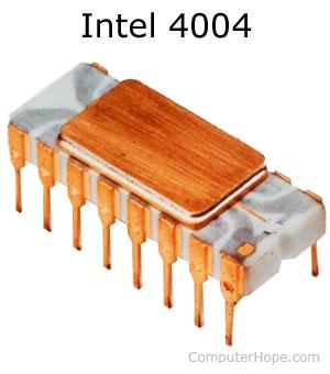 Intel 4004 processor