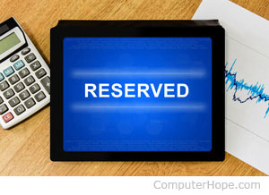 Java reserved words