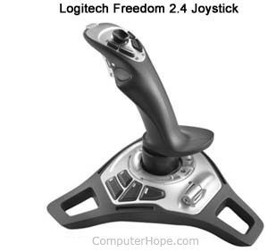 Setting up or installing a joystick or gamepad