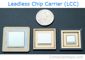 leadless chip carriers