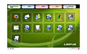 how to start linpus linux