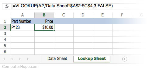 What is HLOOKUP and VLOOKUP (lookup)?