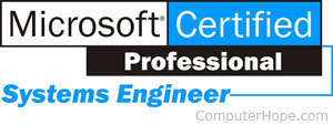 what is mcse microsoft certified system engineer