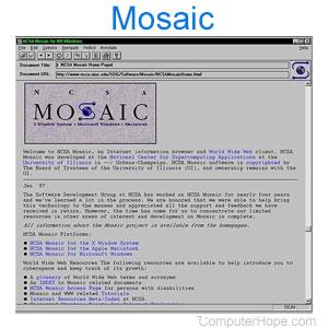 मोज़ेक(वेब ब्राउज़र) क्या है?