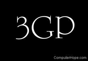3GP or 3rd generation partnership project