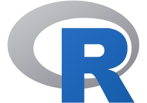 R programming language logo