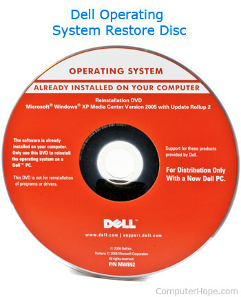 how do you restart a dell computer