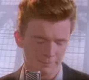 what is a rickroll