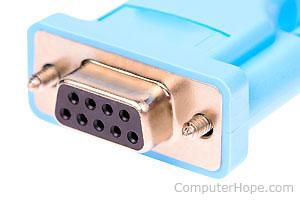 Computer serial port