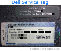 What is a Service Tag?