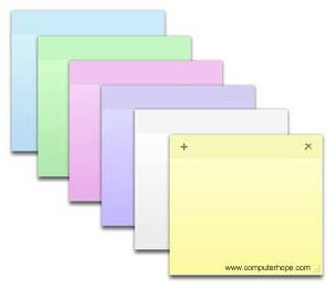 Cara Back Up dan Restore Sticky Notes Di Windows Dengan Mudah