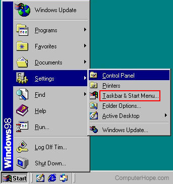 What is the Start Menu?