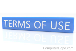 Terms Of Use >> What Is Tos