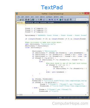 textpad freeware