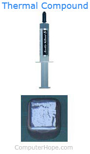 Processor thermal compound