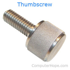 Picture of thumbscrew