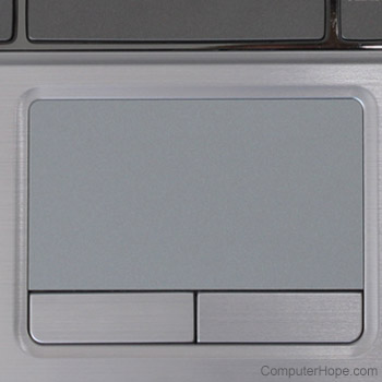 How to disable or enable the touchpad on a laptop
