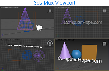 3ds Max viewport