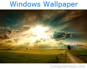 How to save a picture on the Internet as the desktop wallpaper