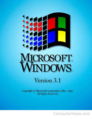 What is windows 3 0 3 1 and for 1 x 3 window