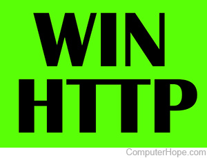 What is WinHTTP?
