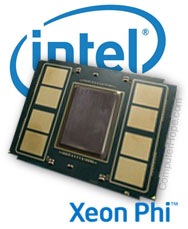 Intel Xeon Phi generation 2 Knights Landing CPU