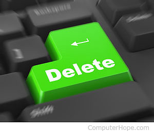 delete one word at a time